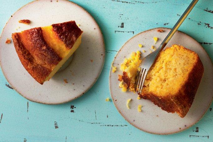 Receita de bolo de fubá ou de milho: qual a mais saudável?