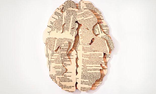 Colagem - Cérebro