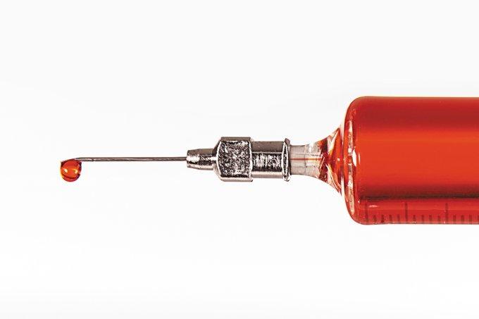 Tecnologia que facilita injeções