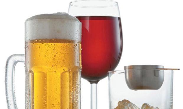 Atenção ao álcool