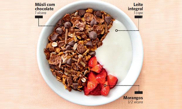 Tigela de cereal para crianças