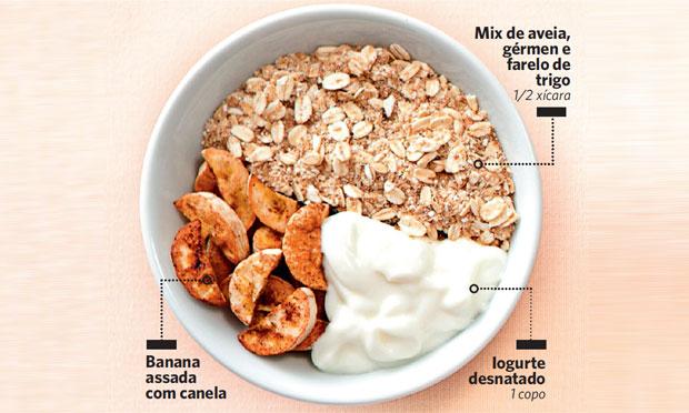 Tigela de cereal para perder peso