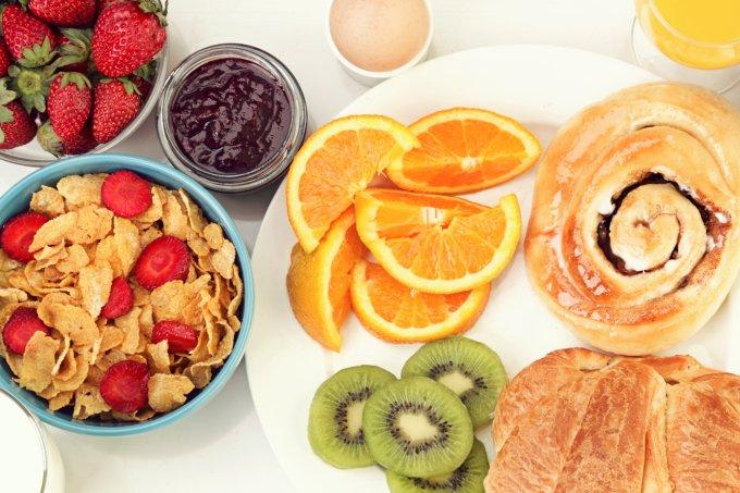 Café da manhã ideal