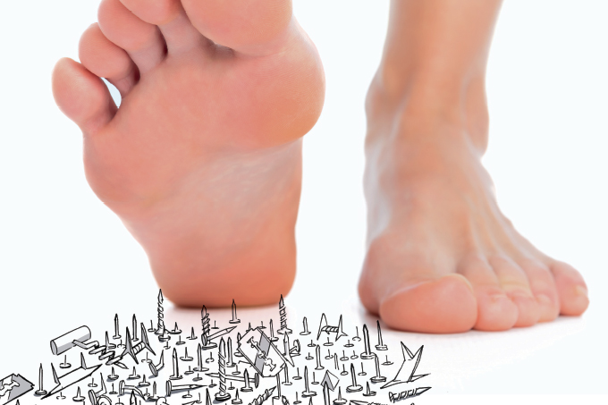 dor nos dedos dos pés diabetes
