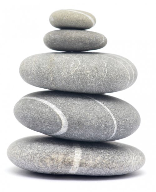 Pedras empilhadas