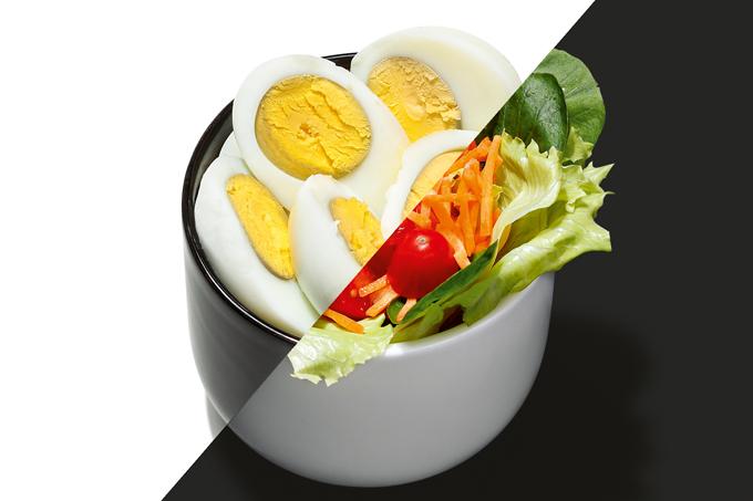 Colocar ovos na salada oferece diversos benefícios