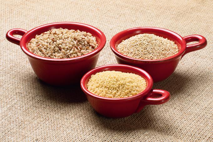 Quinua, cuscuz ou arroz integral: qual a melhor opção?