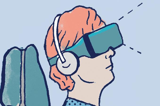 Realidade virtual é tratamento contra dor