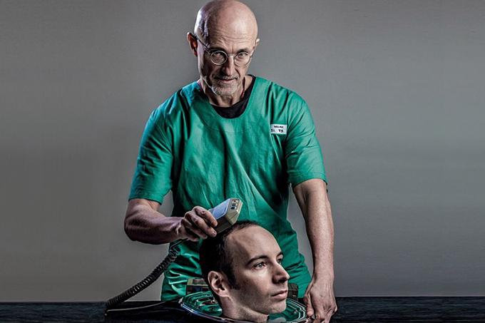 O cirurgião italiano Sergio Canavero