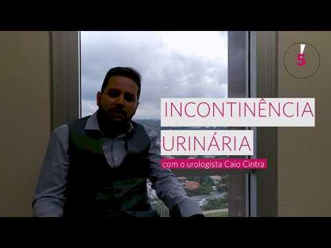 Incontinência urinária: sintomas e remédio