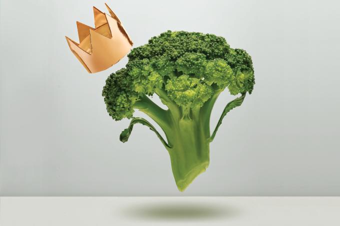 Vida longa ao brócolis