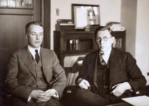 Charles Best e Frederick Banting