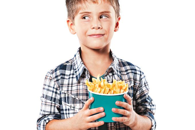 Colesterol alto na infância