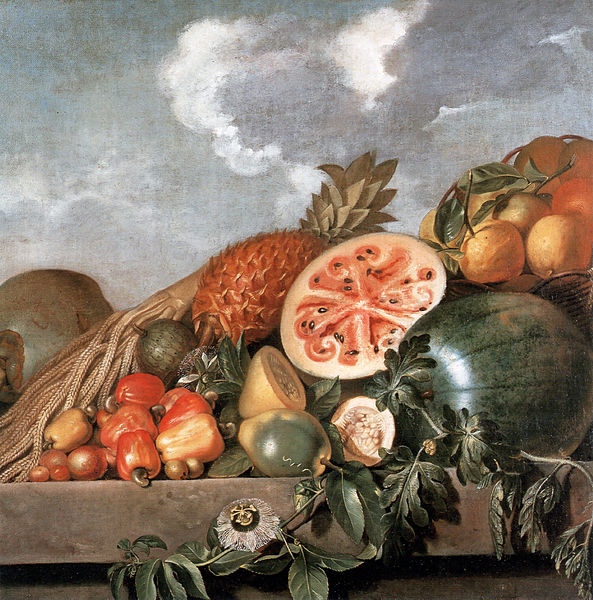 Pineapple, watermelons and other fruits (Brazilian fruits)
