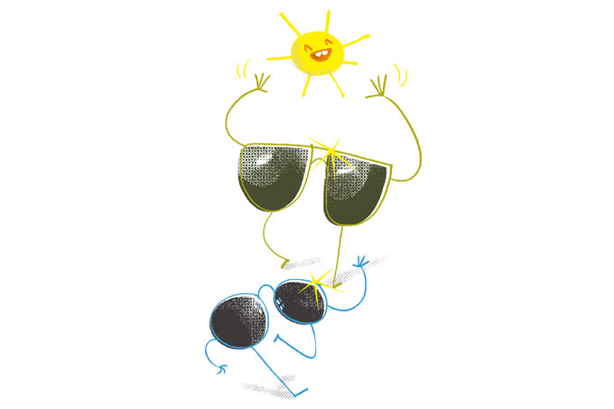 Por que os olhos pedem cuidados no verão