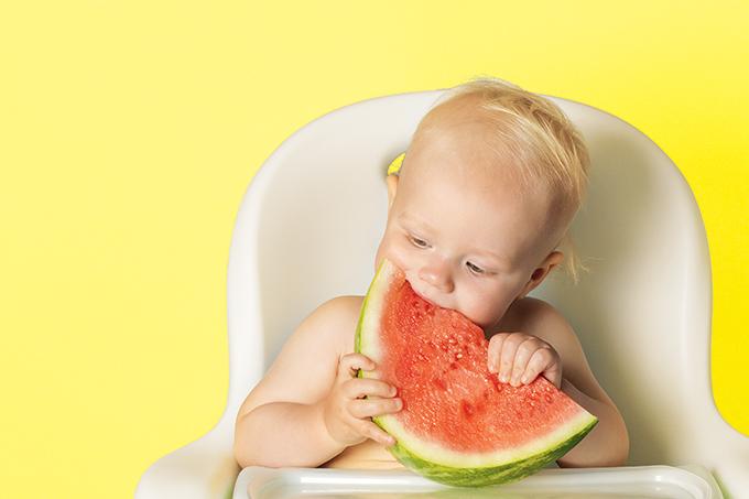 Método BLW para o bebê