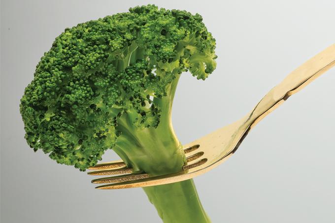 Vegetais crucíferos, como o brócolis, ajudam a evitar a aterosclerose