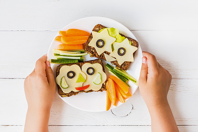 Vegetarianismo na infância