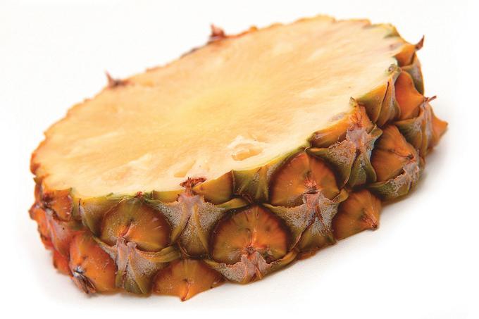 Casca do abacaxi pode ser usada em receitas