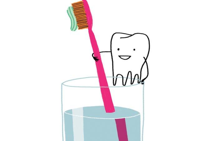 Placa bacteriana na saúde dos dentes