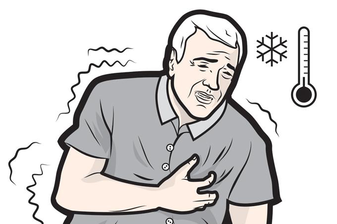 Frio eleva o risco de doenças cardíacas