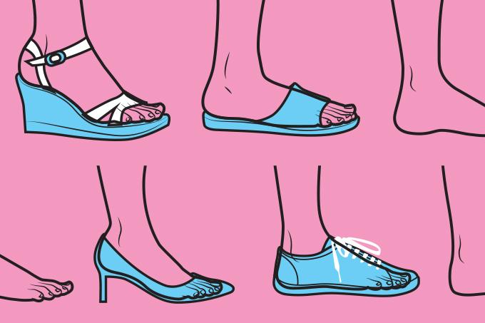 Saúde dos pés.