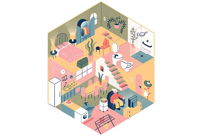 Mudanças na casa de idosos ajudam a evitar acidentes