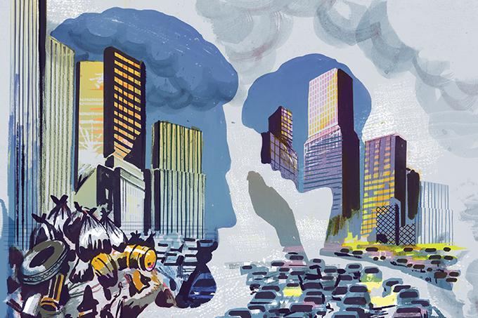 Os problemas de saúde que atingem as grandes cidades | Veja Saúde