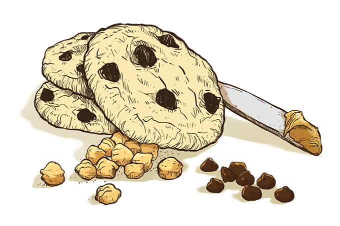 Como fazer um cookie saudável