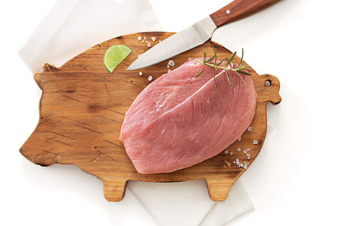 Carne de porco pode fazer parte da rotina