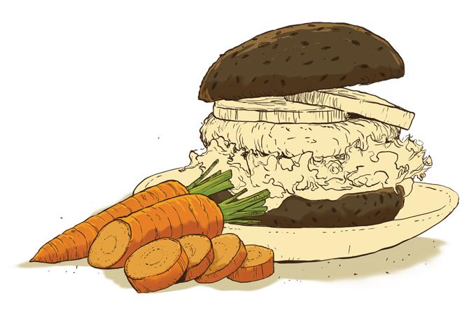 Como fazer um hambúrguer caseiro