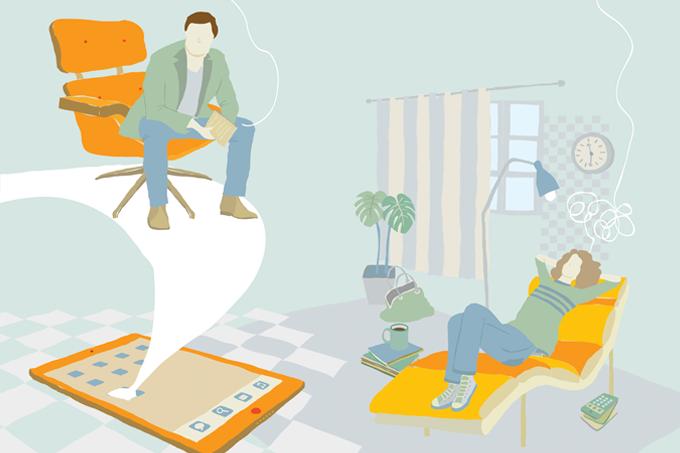 Como funciona a terapia online
