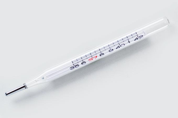 Termômetro com mercúrio é proibido