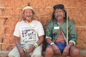 Dois pacientes que participaram da expedição