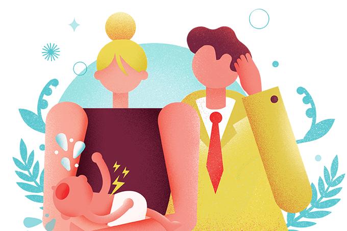 Por que os bebês sentem cólica
