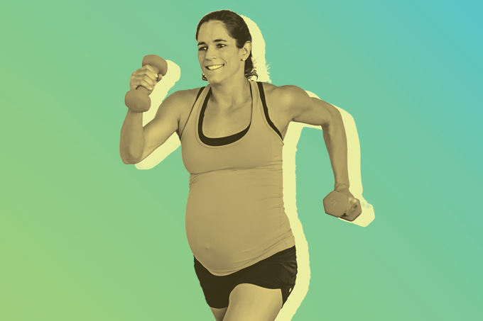 Os benefícios do exercício físico durante a gestação