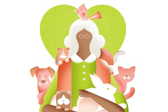Animais de estimação auxiliam na saúde mental de idosos