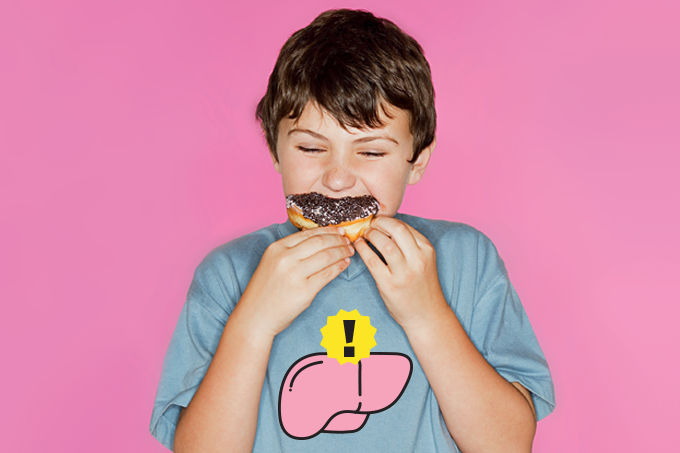 Como eliminar gordura no fígado dos jovens.