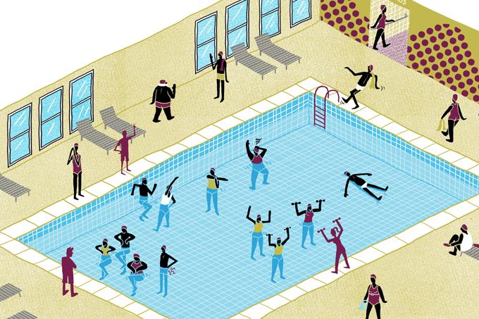 Esportes aquáticos para evitar quedas