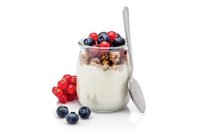 Iogurtes proteicos chegam aos mercados.