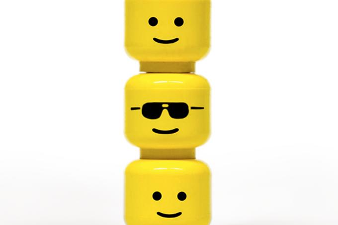 Lego Braille Bricks foi criado especialmente para crianças com deficiência visual.