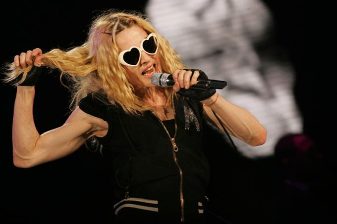 Madonna é símbolo do envelhecimento livre de amarras