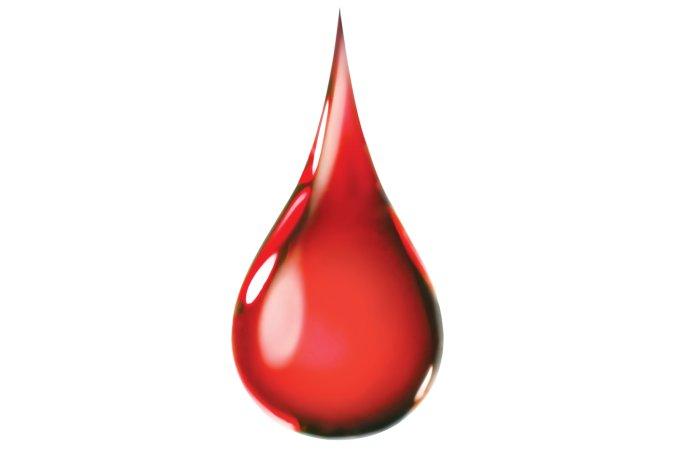 Doação de sangue no inverno