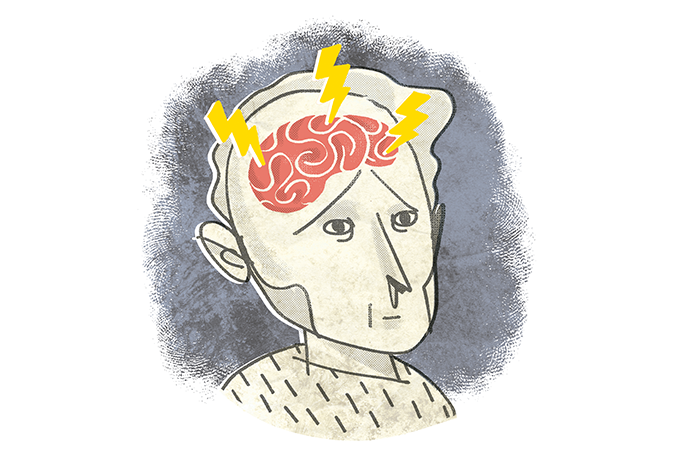 Estimulação transcraniana para depressão