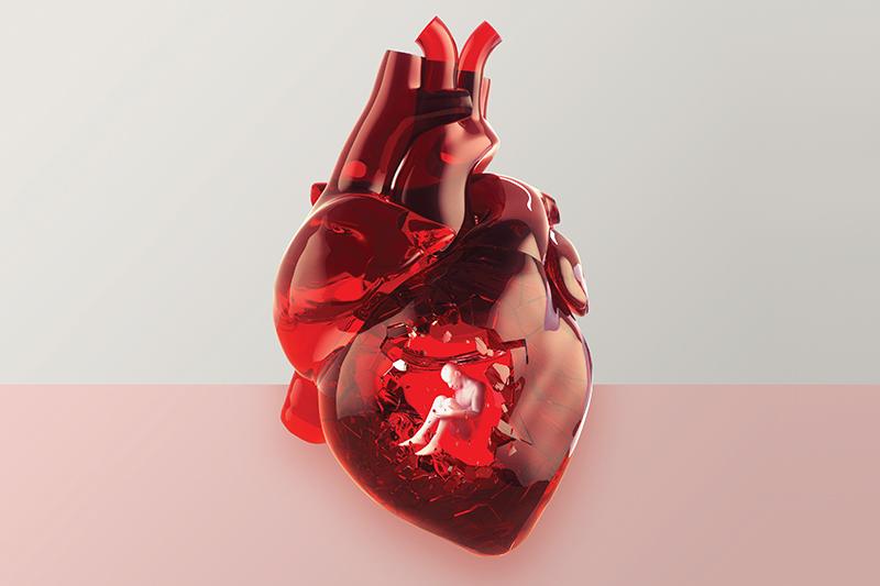 A depressão provoca alterações dentro do corpo que favorecem problemas cardíacos.
