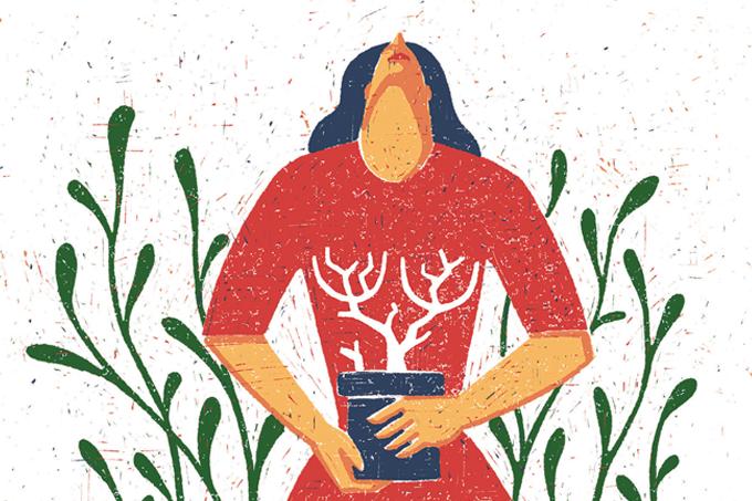 Plantar é terapêutico para corpo e mente.