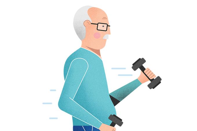 Músculos em idosos