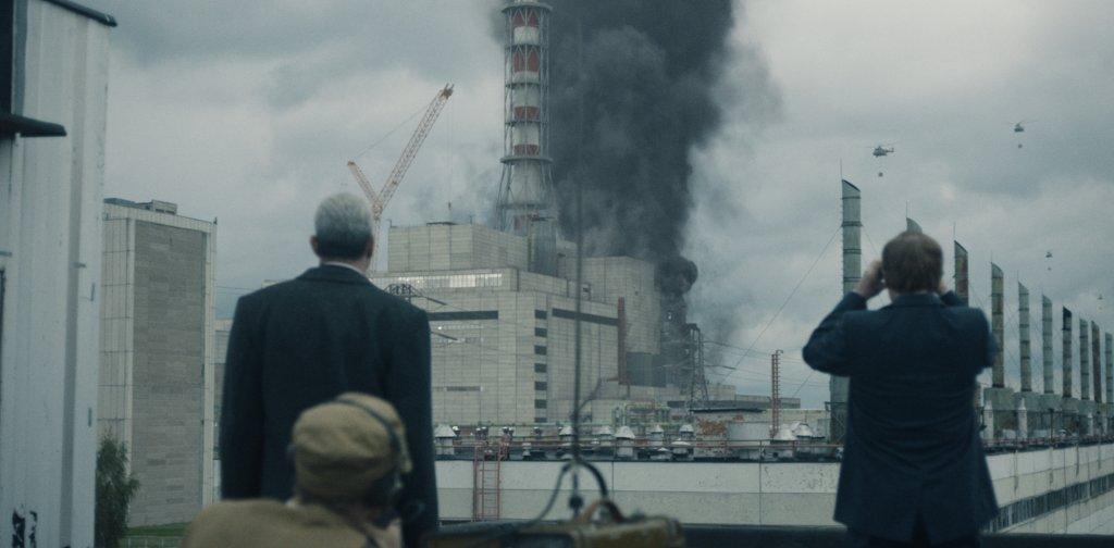Cena da série Chernobyl
