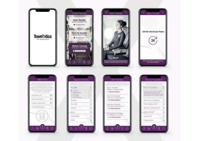 Travelletics: aplicativo para se mexer no avião