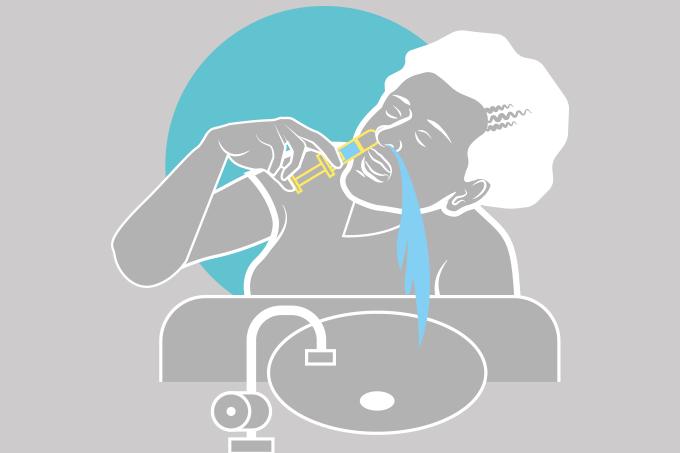 Como limpar o nariz?
